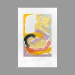 Signed etching carborundum de Arlandis Antoine : R.M. Rilke Intimate portrait 43