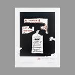 Lithograph de Basquiat Jean-Michel : Big Pagoda