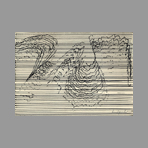 Original signed drawing de Quentin Bernard : Rhythm I
