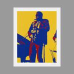 Signed print de Rancillac Bernard : Charly Parker