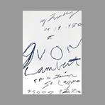 Twombly Cy, DLM n°Sans