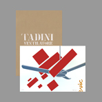 Original signed screenprints de Tadini Emilio : Fan