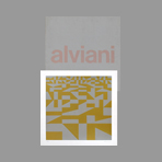 Portfolio with screenprints de Alviani Getulio : Fifty-Fifty