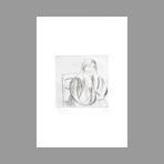 Original signed etching de Manzu Giacomo : Ritratto di Inge