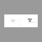 Villon Jacques - Carte de voeux 1957