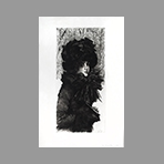 Original etching drypoint de Tissot James : Sunday morning