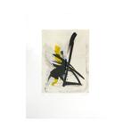 Gravure originale signée de Miotte Jean : Retour