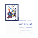 Exhibition invitation card de  : Invitation card Galerie Berggruen et Cie