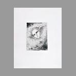 Original etching de Hasegawa Kiyoshi : Poésies complètes de Konosuke Hinatsu, Plate VI