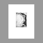 Original etching de Hasegawa Kiyoshi : Poésies complètes de Konosuke Hinatsu, Plate VII