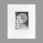 Original etching de Hasegawa Kiyoshi : Poésies complètes de Konosuke Hinatsu, Plate IX
