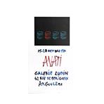 Serigraphieplakat de  : Plakat für die Ausstellung des Künstlers in der Galerie