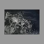 Original signed lithograph de Moreni Mattia : Composition II