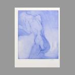 Original signed drypoint de Vilage Michel : Nude