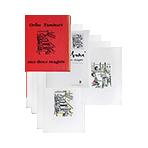Livre avec lithographies de Tamburi Orfeo : Aux deux magots