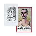 Livre avec gravure de Tamburi Orfeo : Ritratti e Autorittrati
