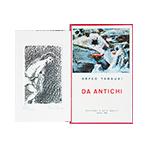 Livre avec gravure de Tamburi Orfeo : Da Antichi