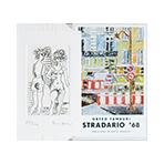 Livre avec gravure de Tamburi Orfeo : Stradario '68