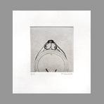 Original signed drypoint de Favier Philippe : Equinoxe