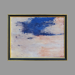 Signed single work de Laubi�s Ren� : Composition IV