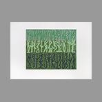 Estampe originale signée de Licata Riccardo : Foreste