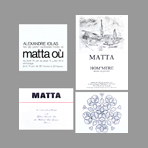 Matta Roberto - Cartons d'invitations