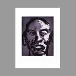 Original signed etching de Pei-Ming Yan : Head