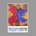 Klein Yves - Exposition Yves Klein, Louisiana