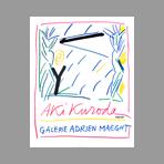 Original lithograph poster de Kuroda Aki : Fiac 84