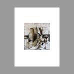 Gravure originale signée de Coudrain Brigitte : La Taille Douce