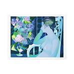 Original signed lithograph de  : Femme assise
