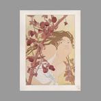 Original lithograph de Estampe Moderne : Dans les ronces