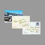 Handwritten document de Mathieu Georges : Gstaad