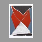 Lithographie originale signée de Wesel Leo : Budor I