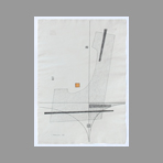 Signed single work de Veronesi Luigi : Composition I