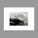Original signed engraving de Ab� Akira : Rapids