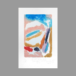 Signed etching carborundum de Arlandis Antoine : R.M. Rilke Portrait intime 40