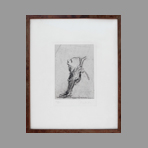 Original signed etching de Dado : Unknown title I