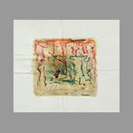Signed single work de Gribaudo Ezio : Composition V