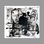 Signed single work de Gribaudo Ezio : Composition VI
