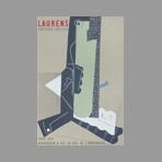 Lithograph poster de Laurens Henri : Papiers coll�s
