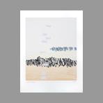 Original signed screenprint de Bilan Richard : Composition V