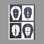 Original signed screenprint de Adzak Roy : Quatre figures