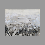 Signed single work de Dublineau Yannick : Distant landscape