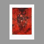 Original signed etching de Dublineau Yannick : Silence