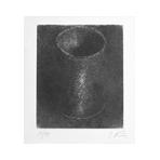 Original signed etching de Kuper Yuri : Composition