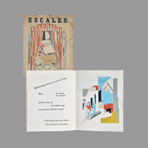 Illustrated book de Lhote André : Escales