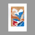 Signed etching carborundum de Arlandis Antoine : R.M. Rilke portrait intime 39