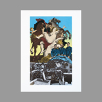 Original signed screenprint de Erro Gudmundur : Unknown title I