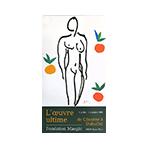 Offset exhibition poster de  : L'oeuvre ultime de Cézanne à Buffet